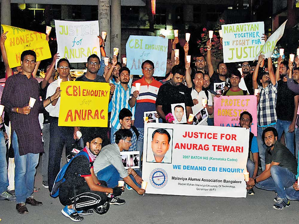Tewari's kin may move court, seek CBI probe into his death