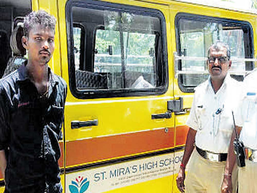 School bus driver held for drunk-driving