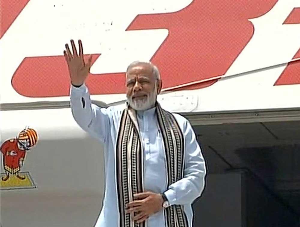 Modi arrives in Astana, India set for SCO entry