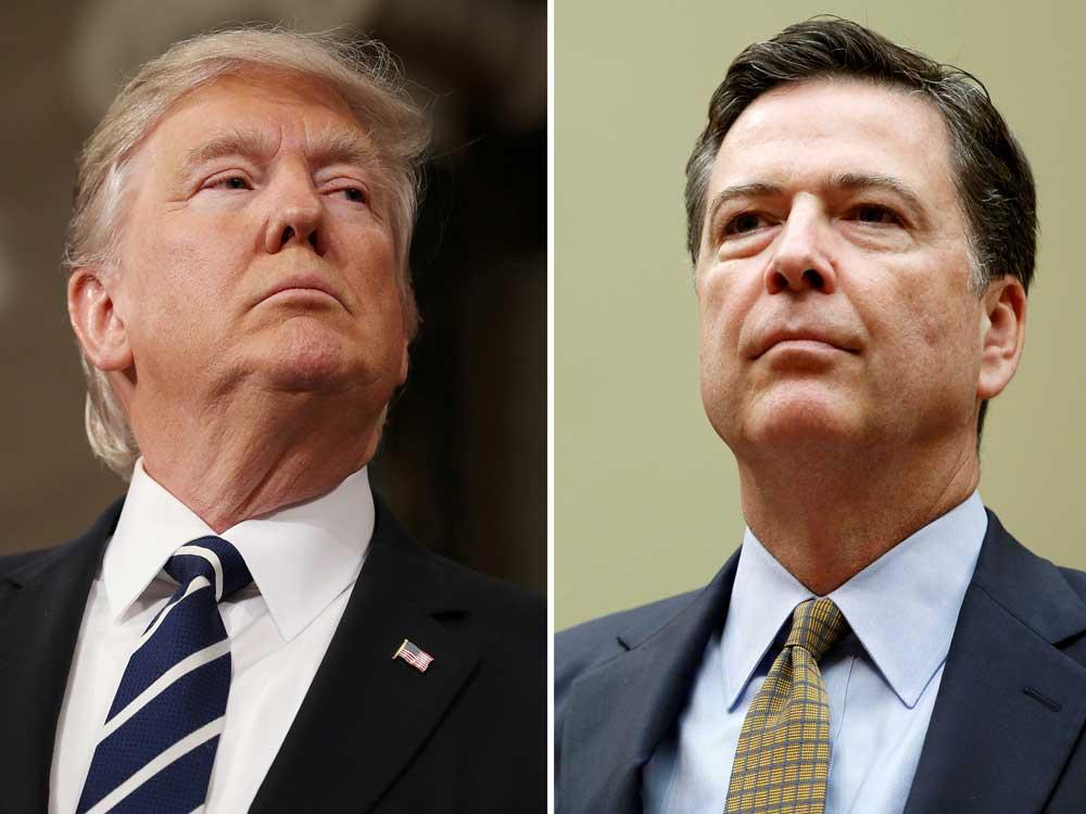 White House defamed me, says FBI ex-chief