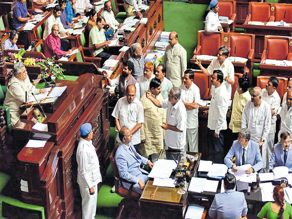 BJP seeks discussion in Assembly on IAS officer's suspicious death