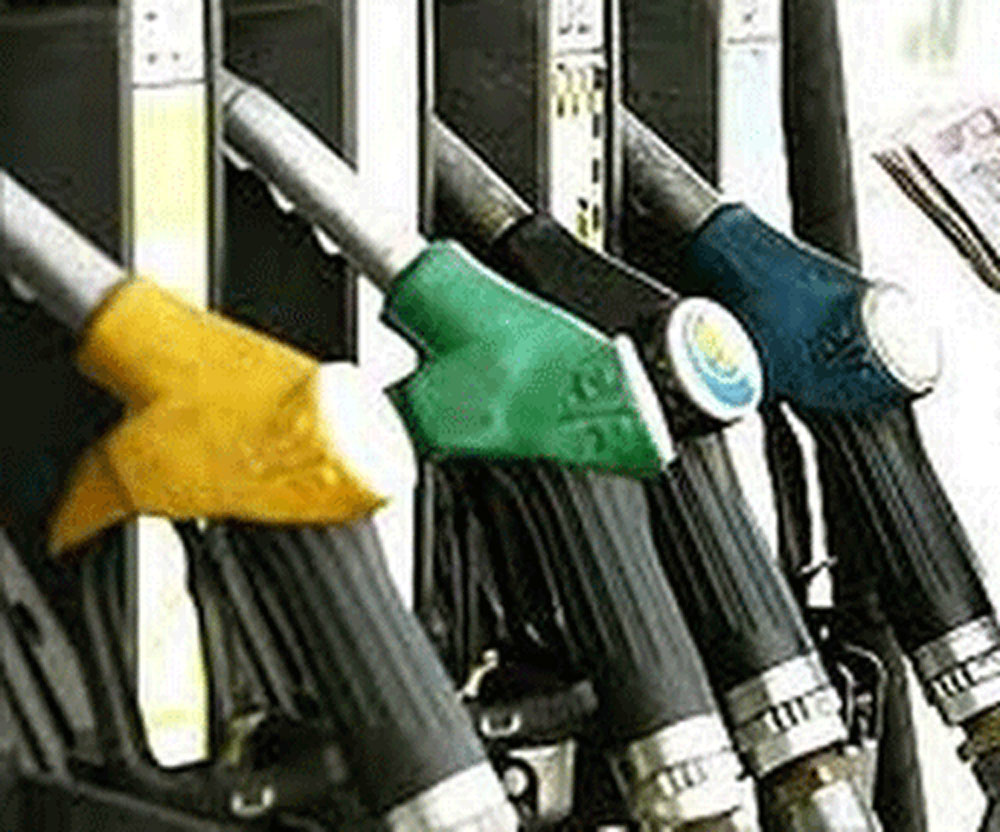 Daily change in fuel prices from June 16