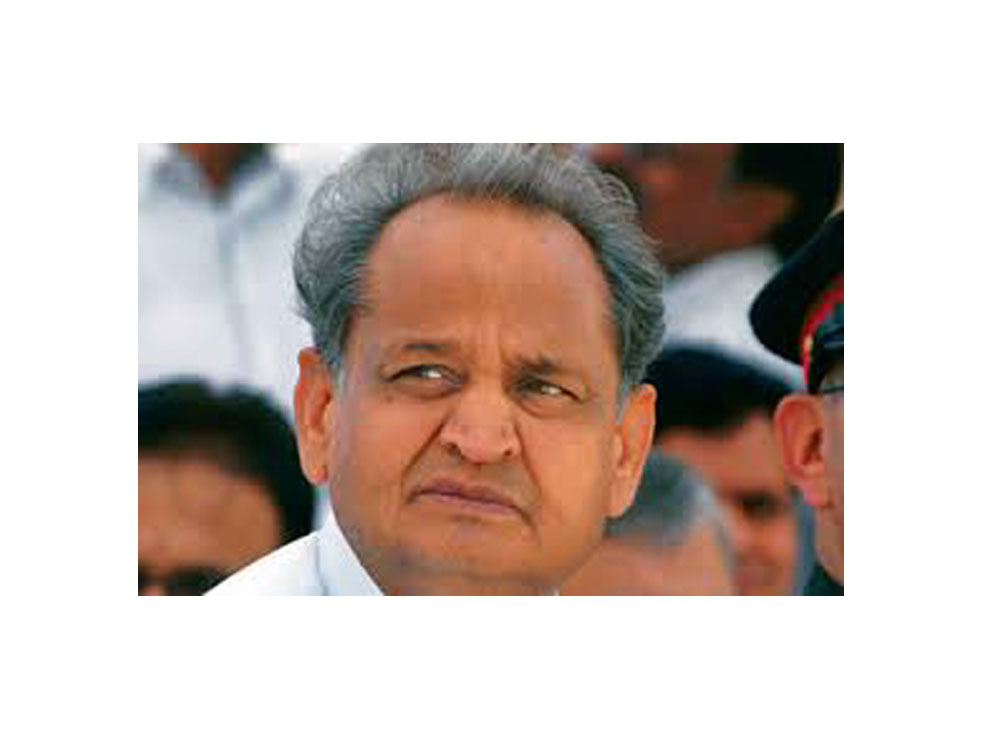 PM busy promoting yoga on Twitter but has no words for our farmers: Ashok Gehlot