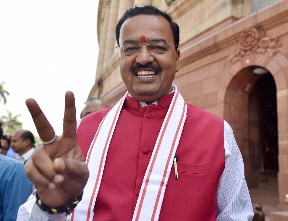 Keshav Maurya dares Nitish to hold fresh assembly polls