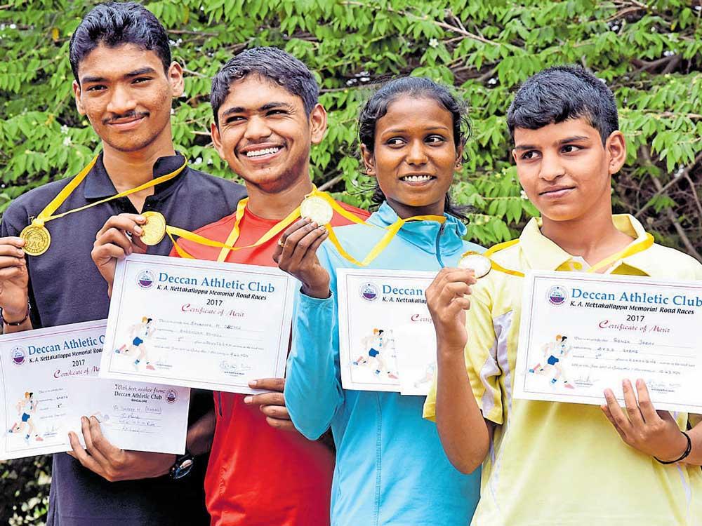Sandeep, Akshata emerge champs