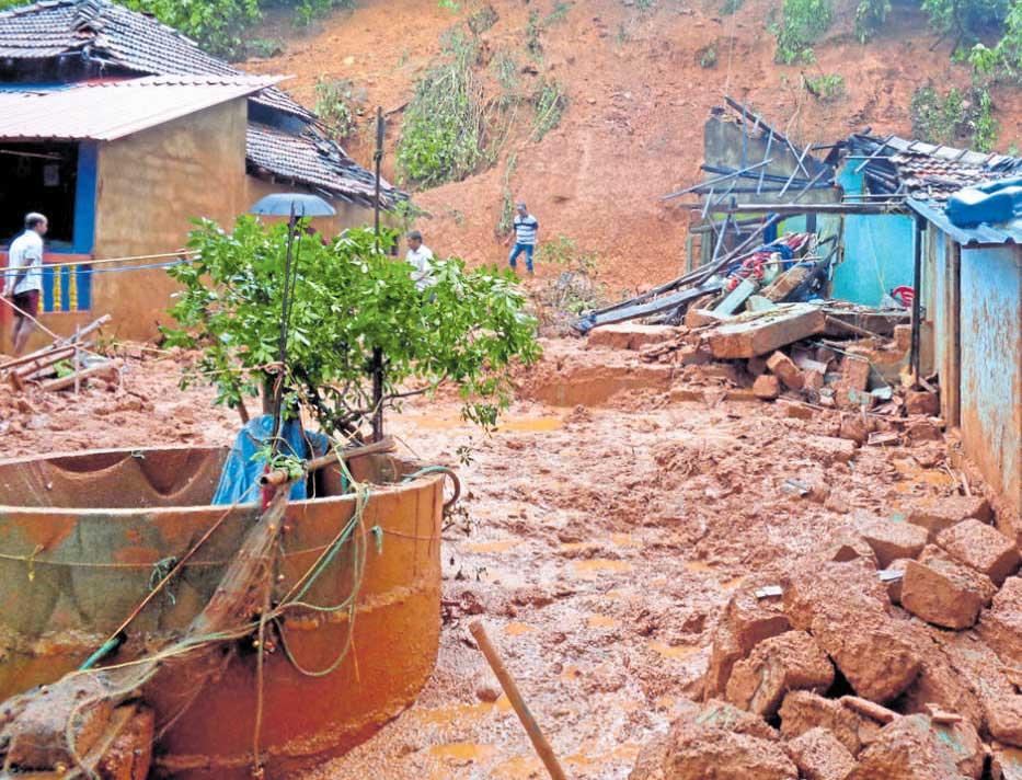 Siblings among three kids buried alive in landslide near Kumta