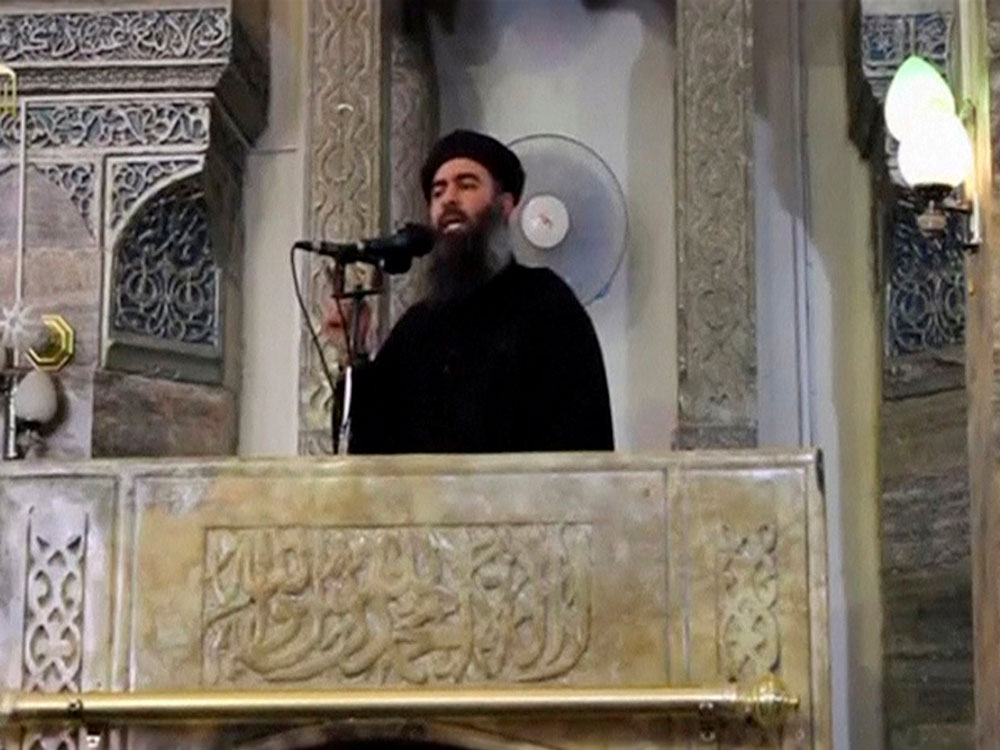 From 'caliph' to fugitive: IS leader Baghdadi's new life on the run