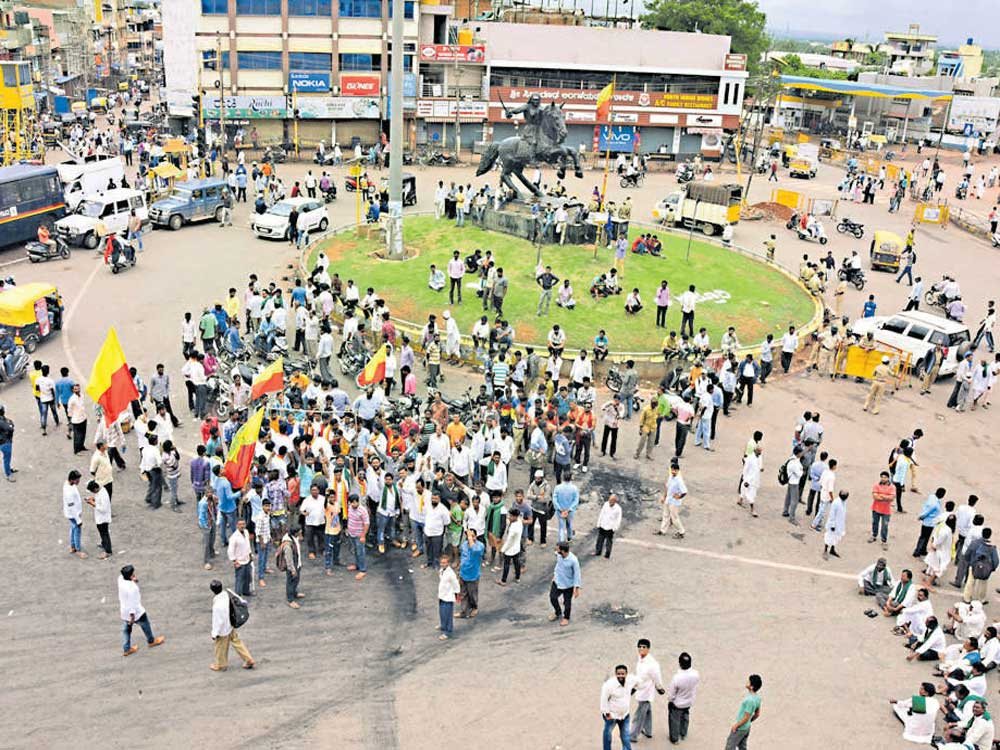 Lukewarm response to K'taka bandh call in most districts