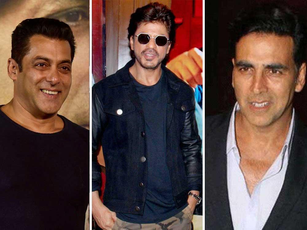 SRK, Salman, Akshay part of Forbes' highest-earning celebrities list