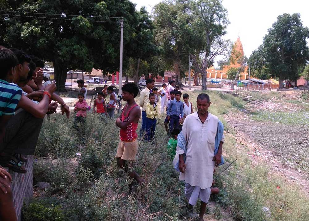Holy trees to stop unholy practice of open defecation in Gonda
