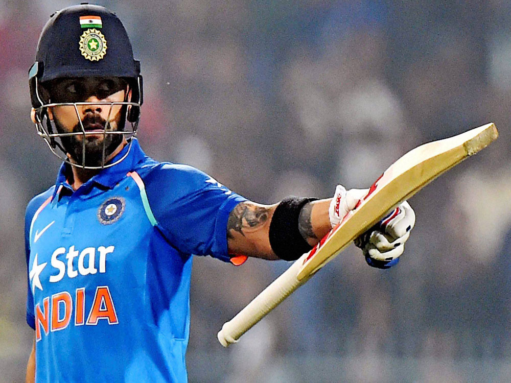 Kohli reclaims top spot in ICC ODI rankings for batsmen