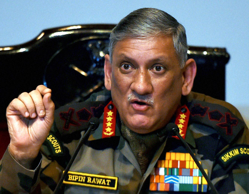 Choose books, laptops to end violence: Army chief to Kashmiri students