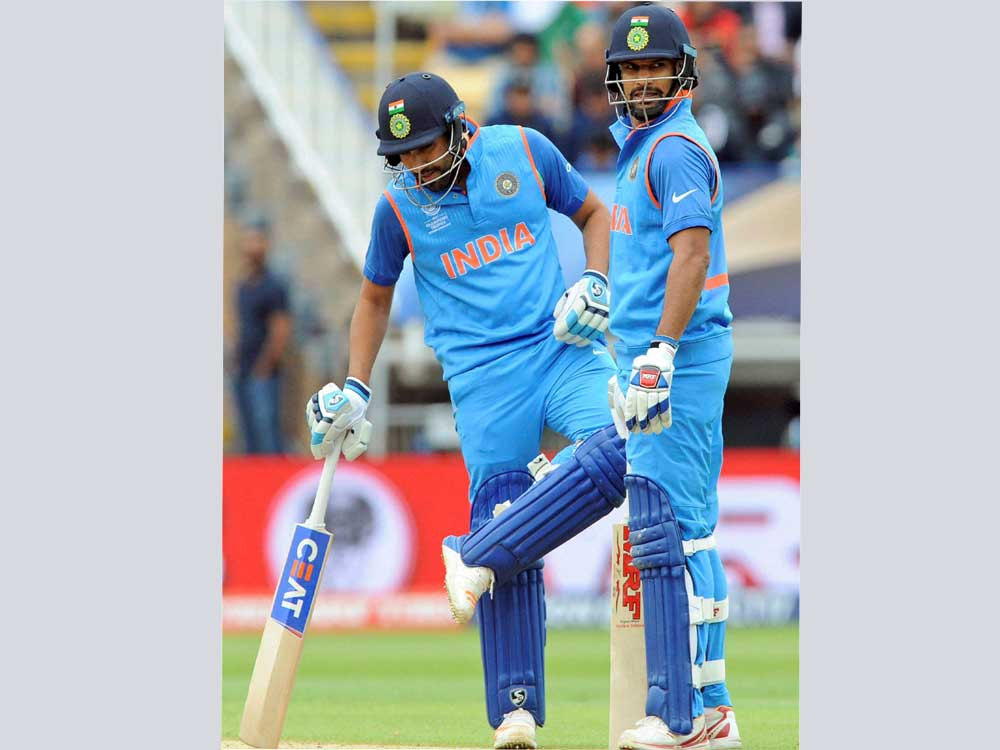 Dhawan-Rohit's perfect duet