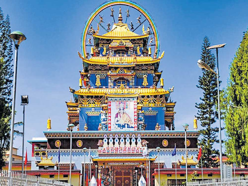 Bylakuppe Golden Temple to close for renovation till Aug 31