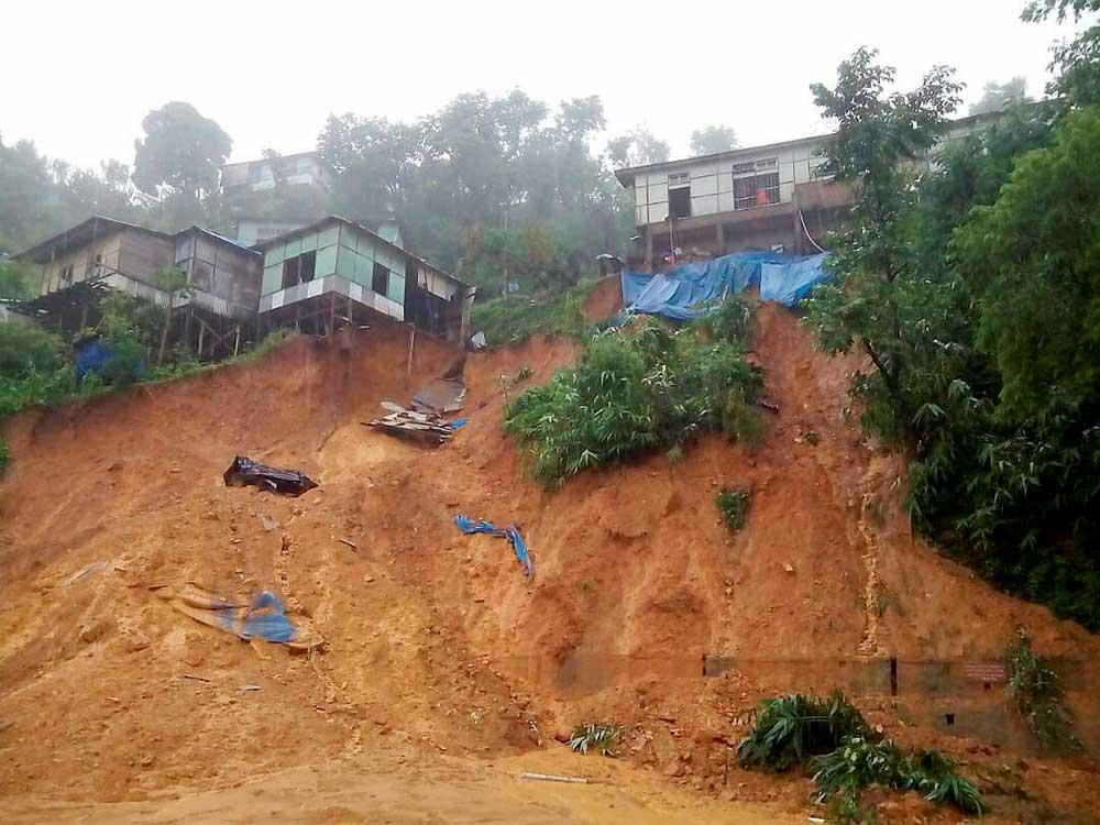Flash floods in NE states, Mizoram worst hit