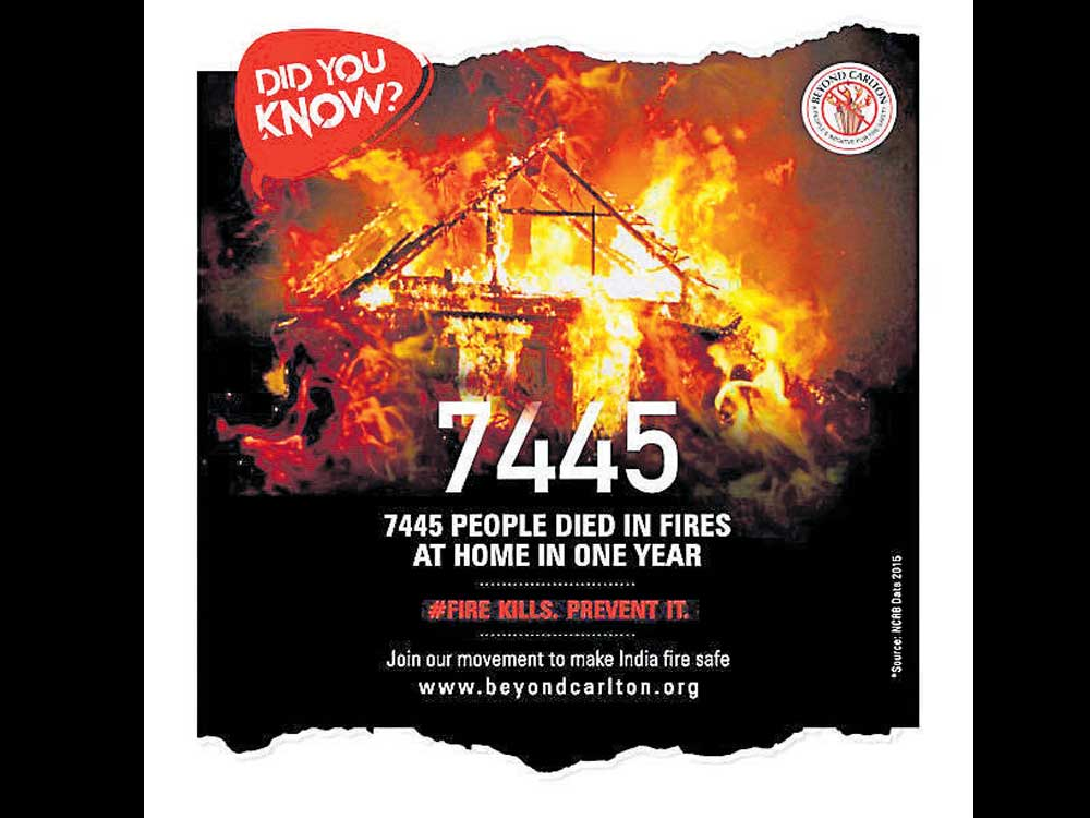 50% of deaths in commercial building fires are from K'taka