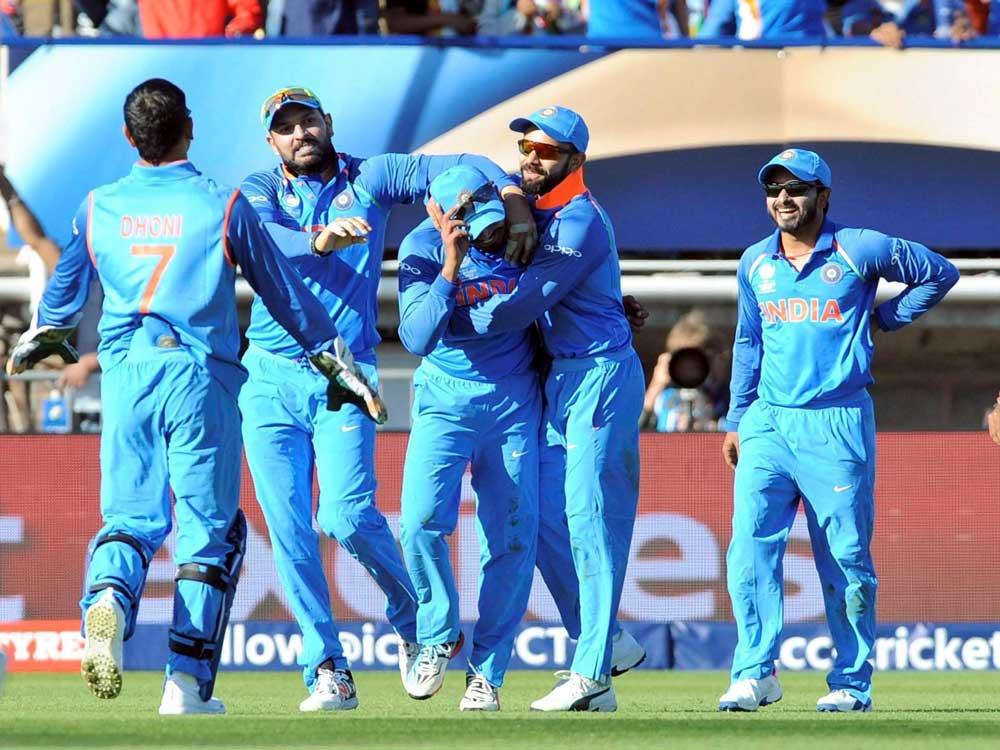 India put Bangladesh in to bat