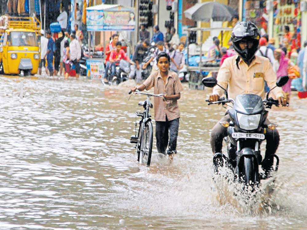Monsoon picks up pace in parts of state