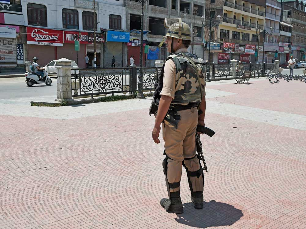Curbs on movement of people in Kashmir as separatists call strike