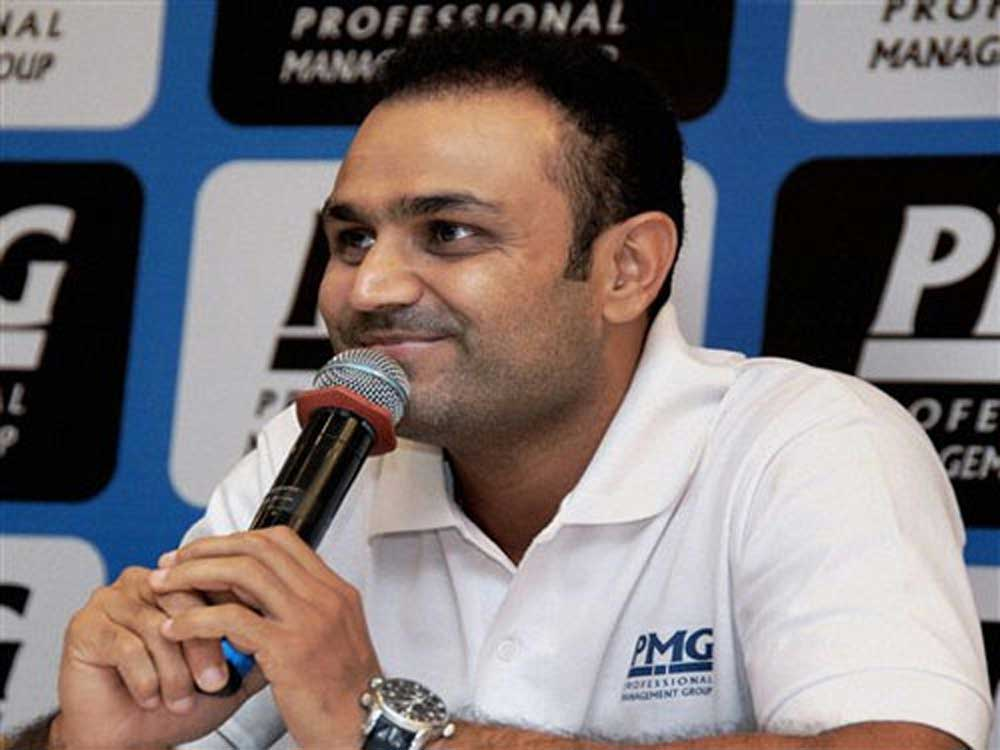My name was enough if I had to send two-line CV: Sehwag