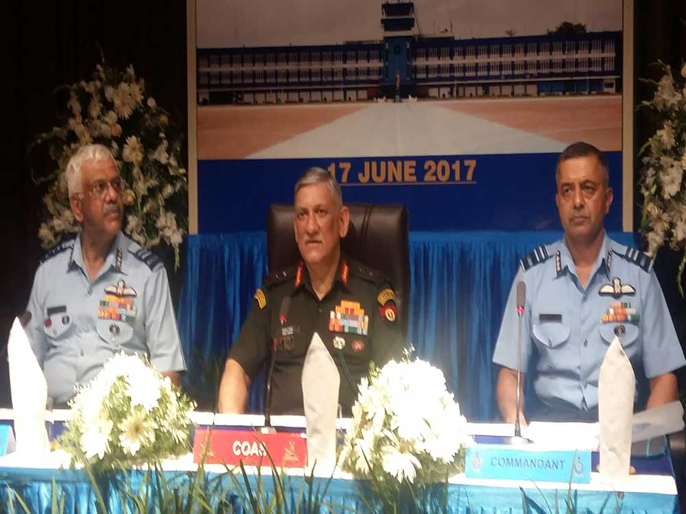 Situation in Kashmir is not as bad as projected: Bipin Rawat