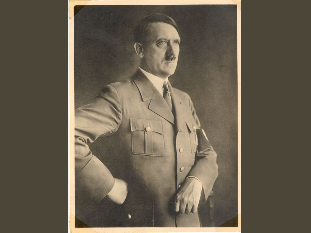 Rare signed copy of Hitler's autobiography sold for 17k pounds