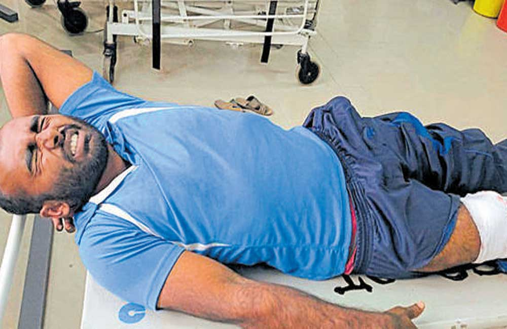 Murder accused shot in leg by DySP