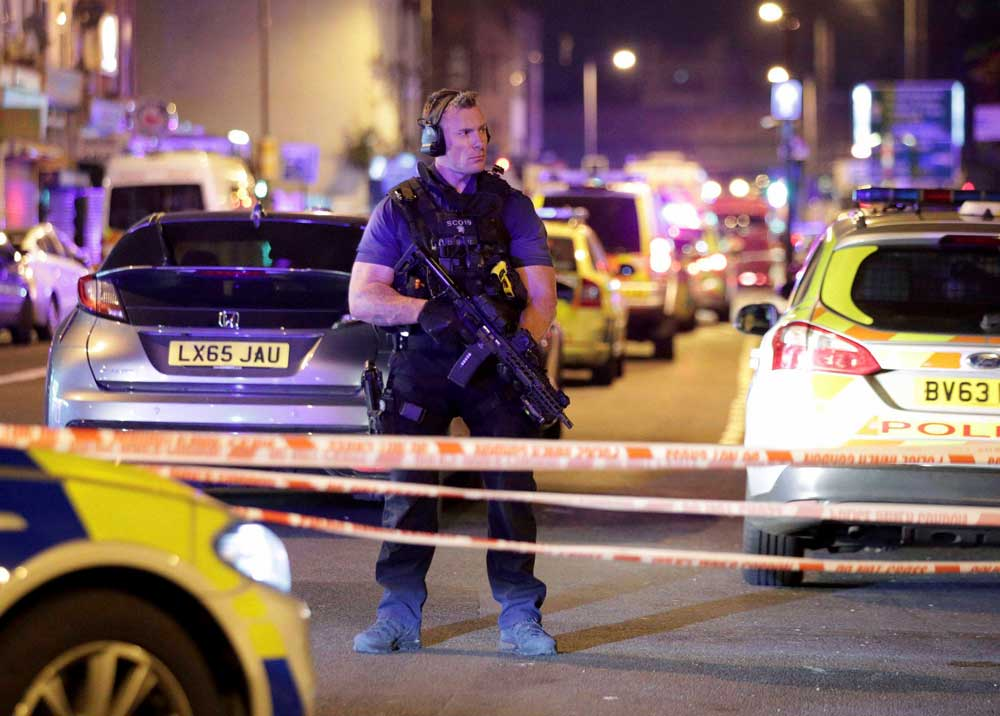 One dead in 'terrorist attack' near London mosque
