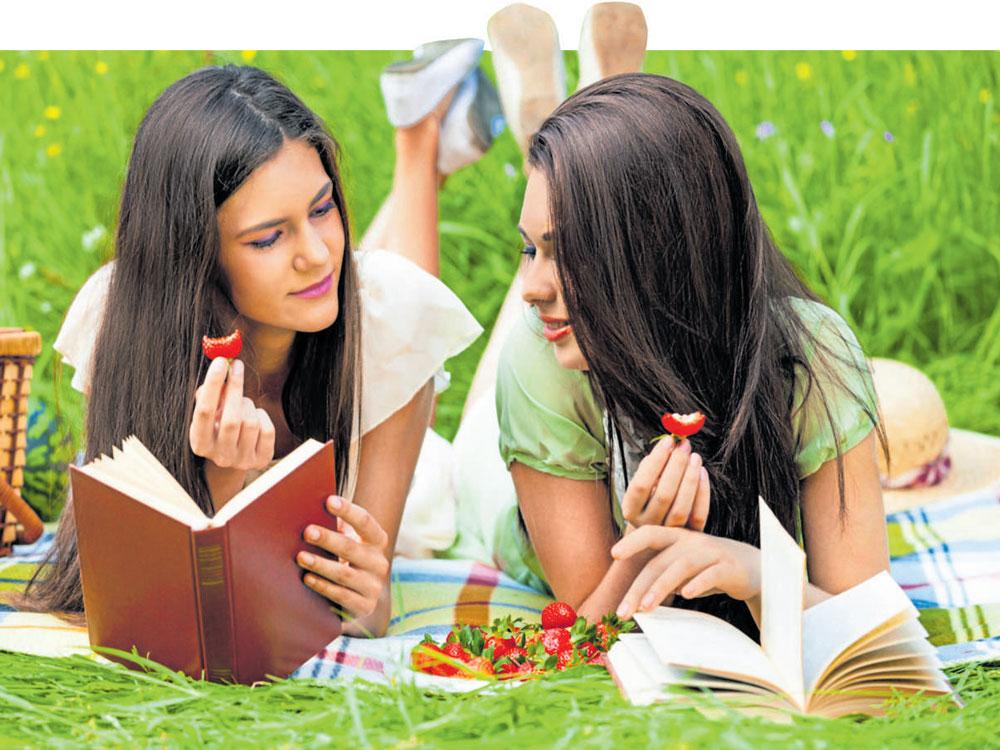 Tuck into a book