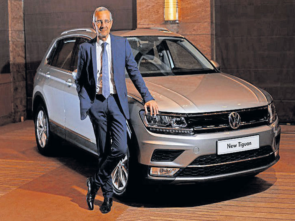 VW launches Tiguan in India