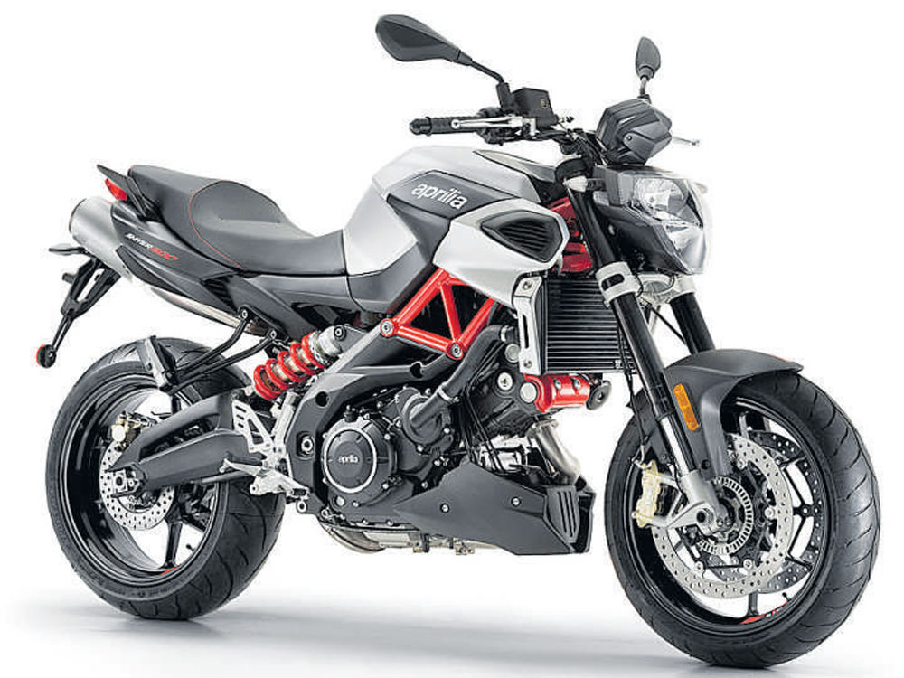 Aprilia gets new bikes to India
