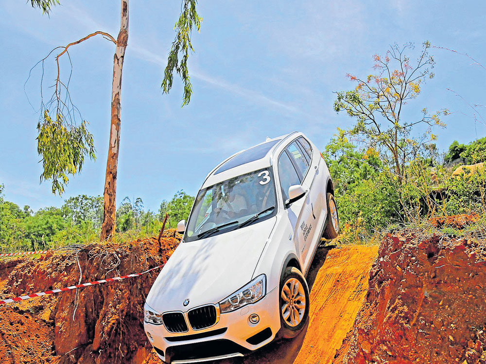 X-treme off-roading moment becomes fun with BMW