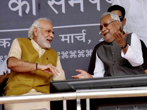 Kovind has no 'RSS taint', Nitish tells Opposition