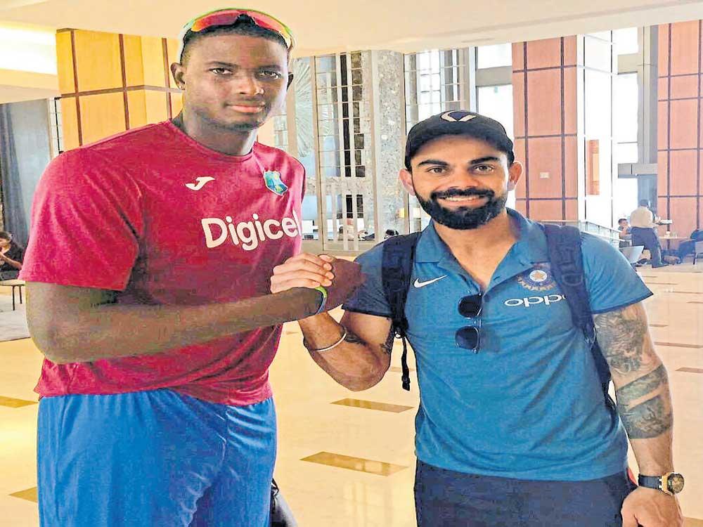 Indian team arrives in Trinidad