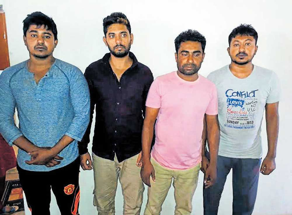 Bangaldeshis held for running prostitution racket