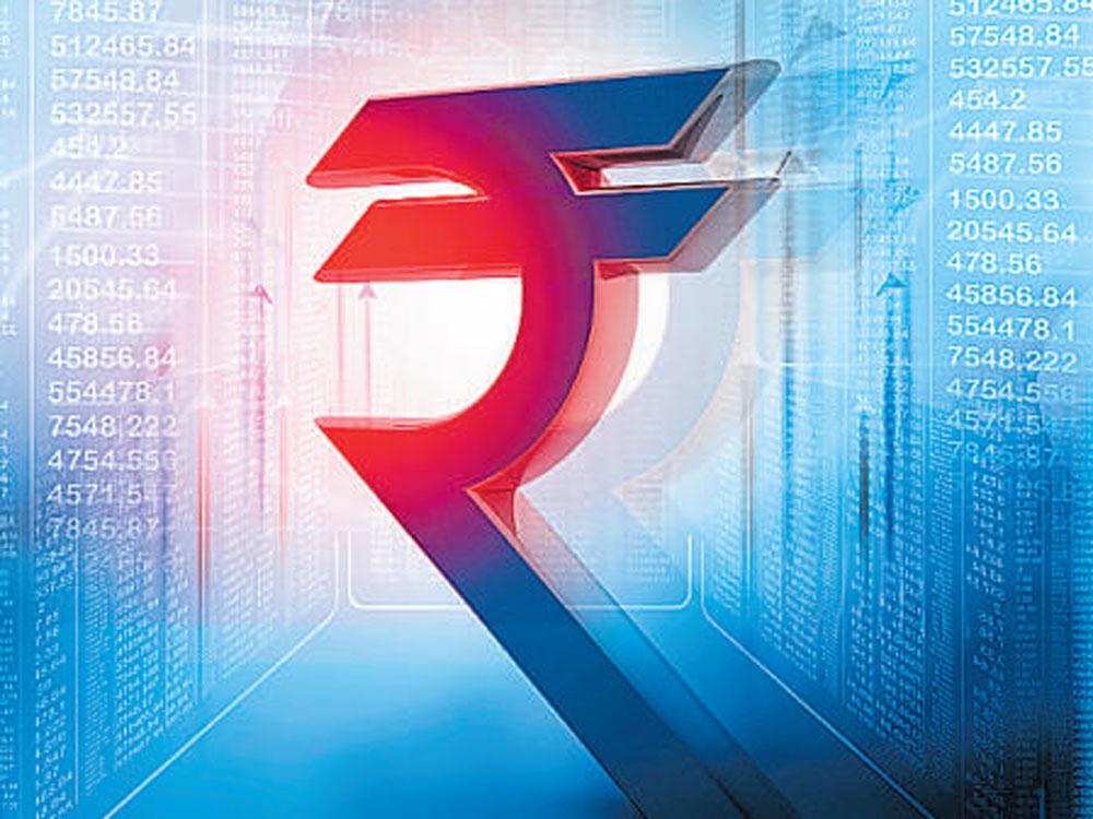 Rupee halts 3-day slide v/s USD; up 7 paise at 64.52