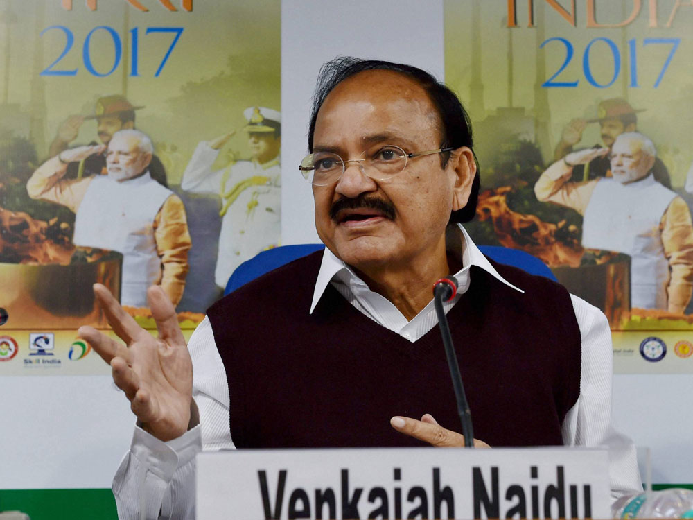 Venkaiah Naidu says India's progress linked to learning Hindi