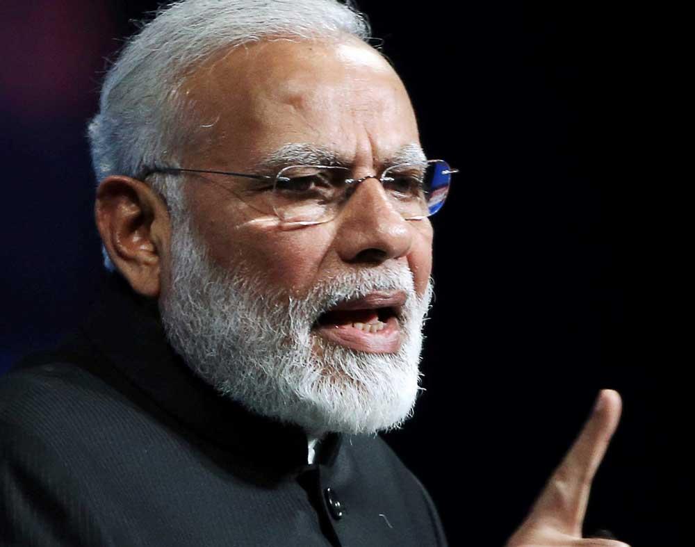 PM Modi remembers 'dark night' of the Emergency, Congress hits back