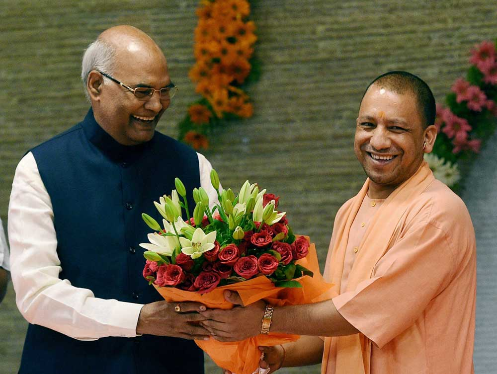 Kovind kicks off Prez campaign from UP