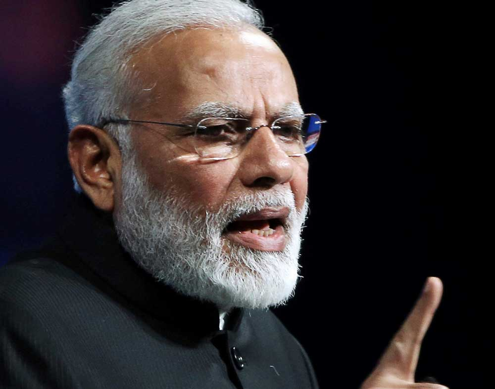 Modi recalls 'dark' days of Emergency