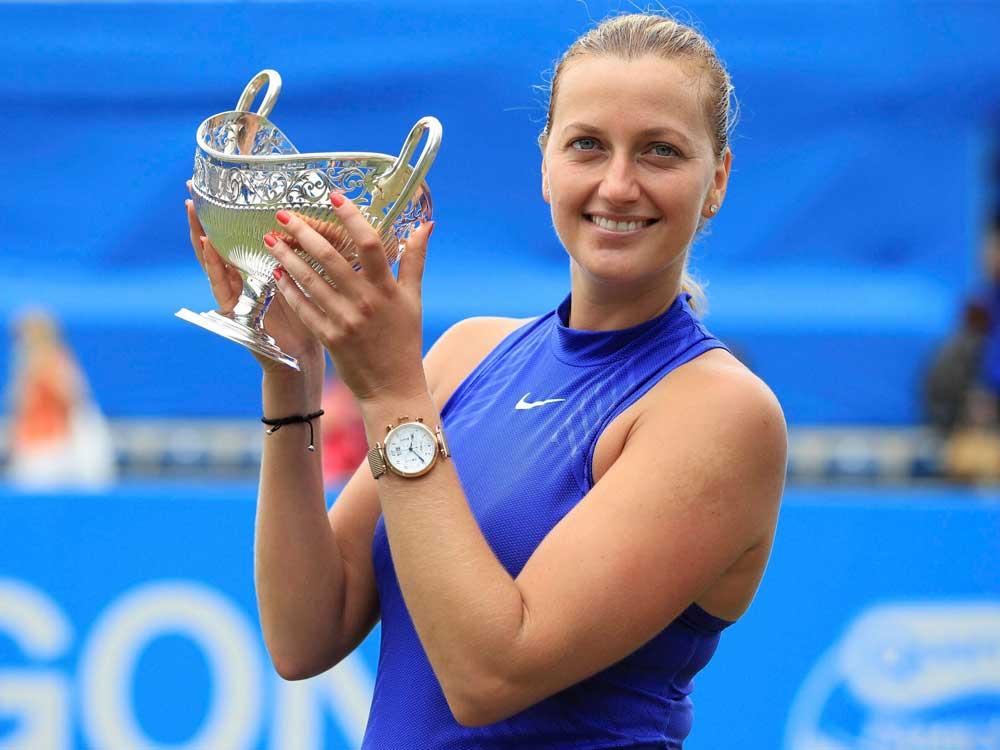 Kvitova looking to Wimbledon after comeback title