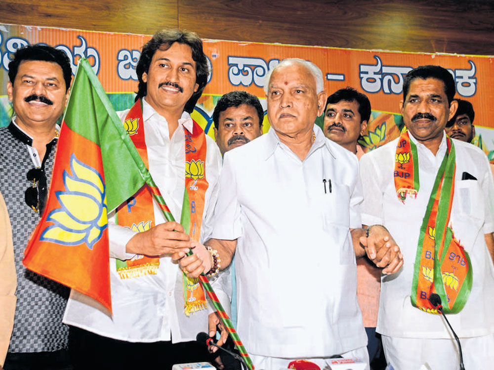 'BJP to hold survey for distributing tickets for Karnataka polls'