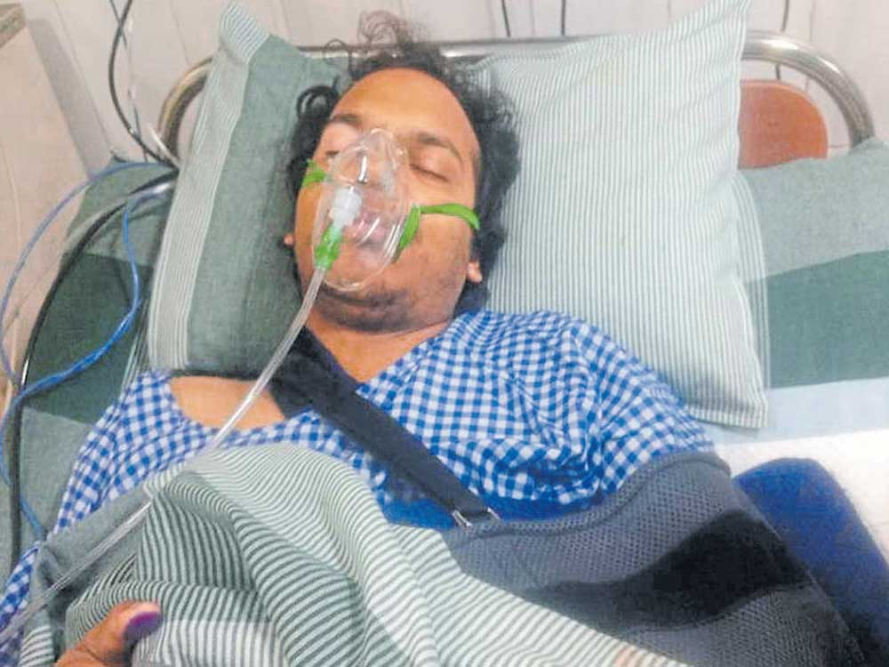 Mudit out of danger after crocodile attack, to get artificial limb after 3 weeks