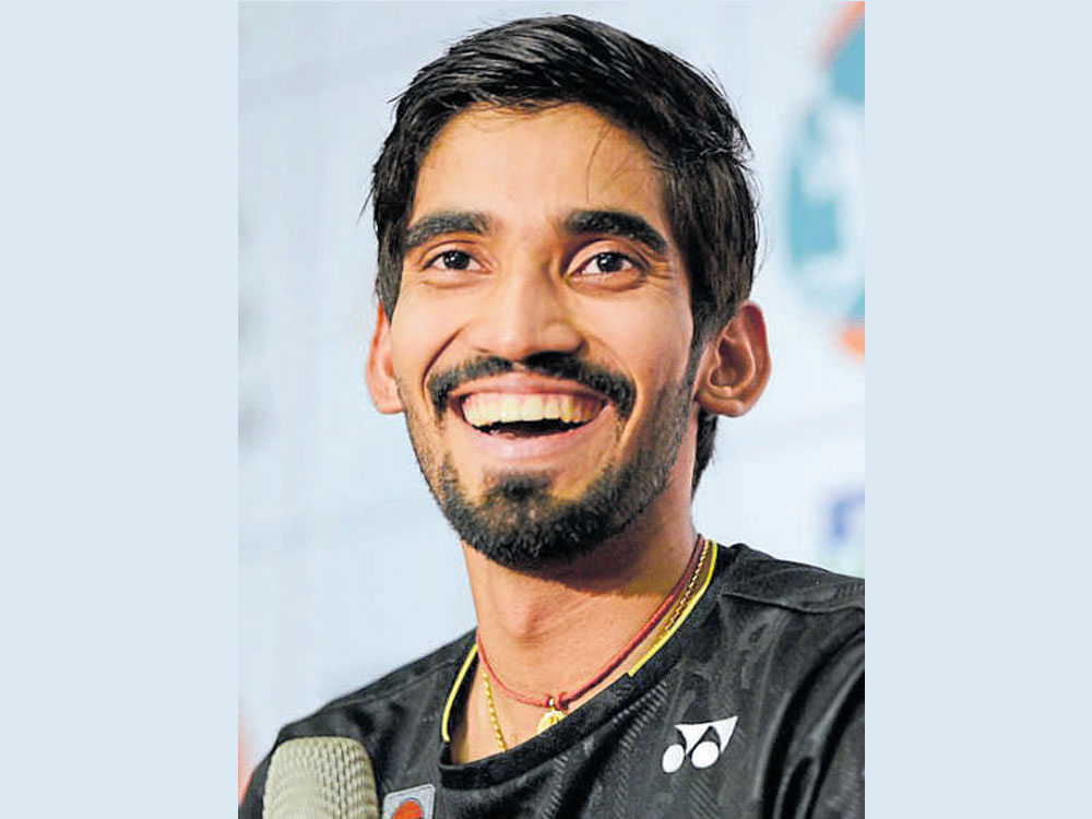 Srikanth eyes World glory