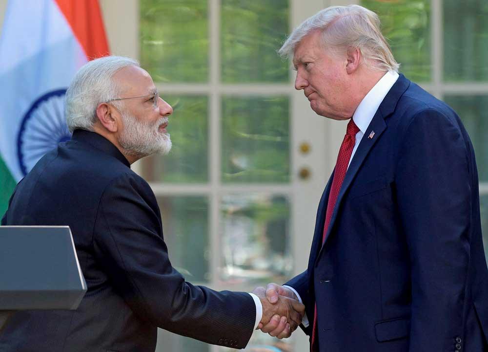 Modi, Trump tell Pak to rein in terror groups