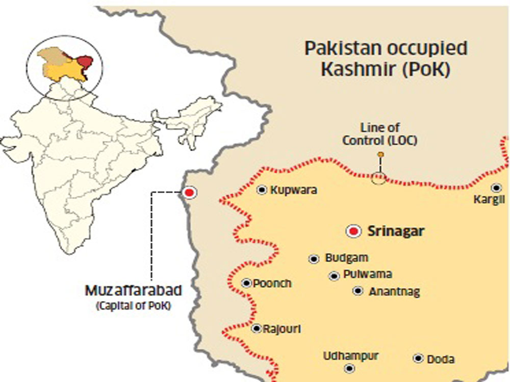 Govt tells US 'entire Kashmir is India's'