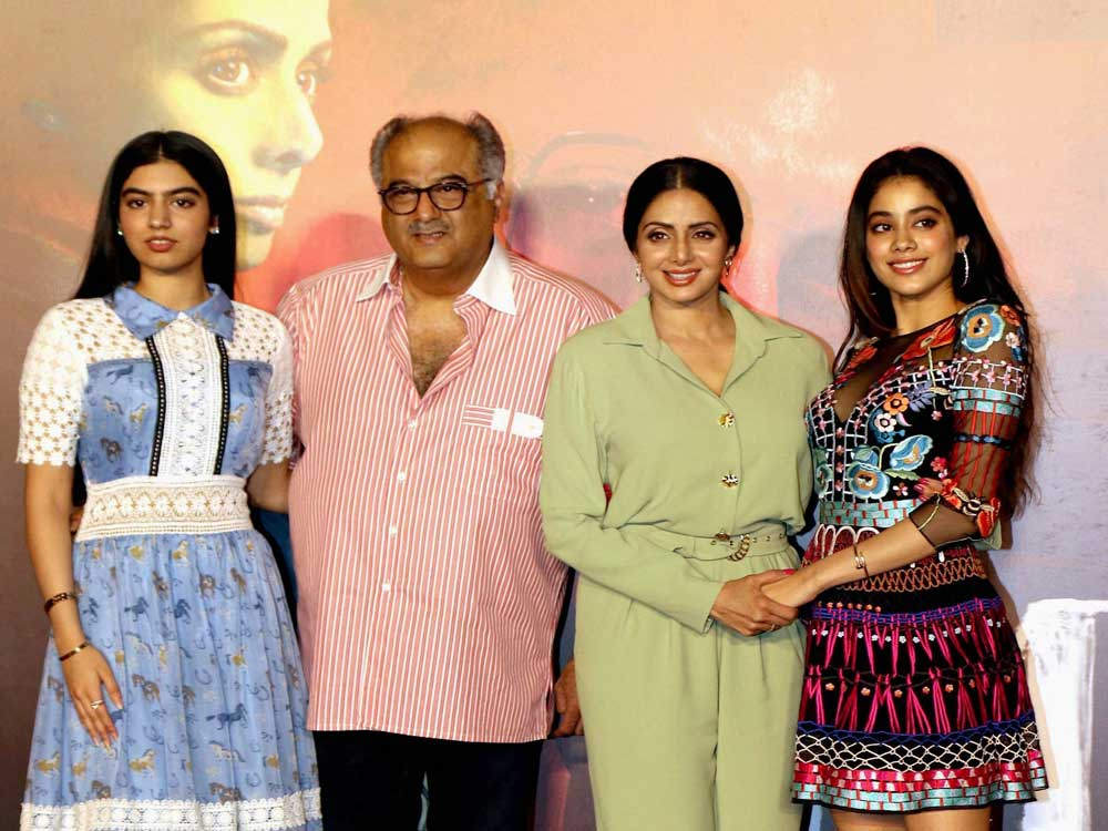 Can't expect my kids to be the way I was with my mom: Sridevi