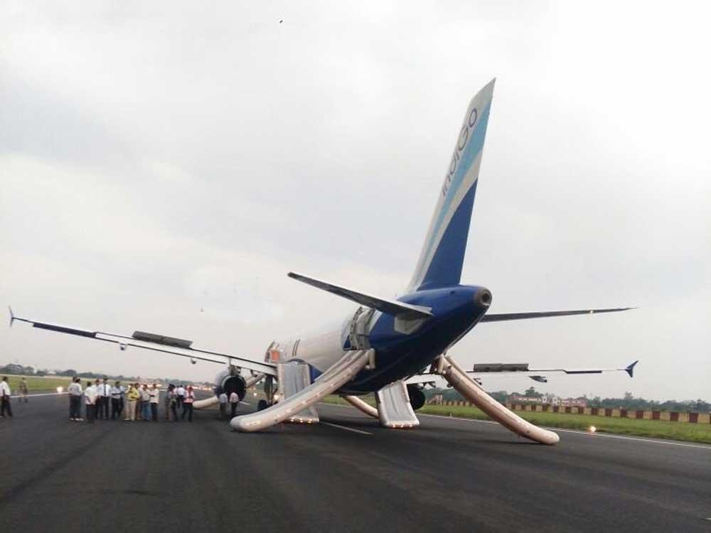 Miraculous escape for 174 Indigo passengers at Patna airport