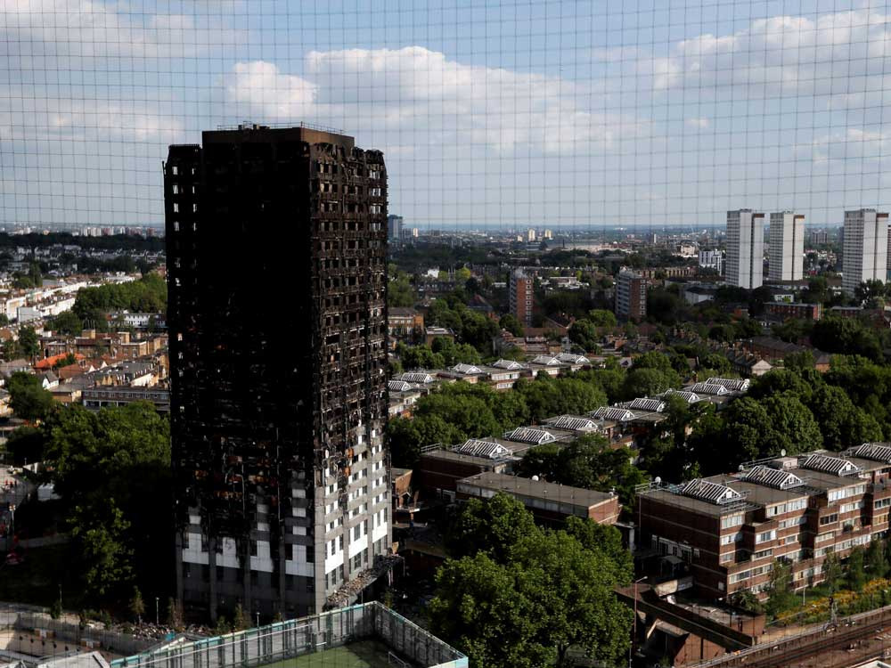 Renovators at UK blaze tower were asked to cut costs: report