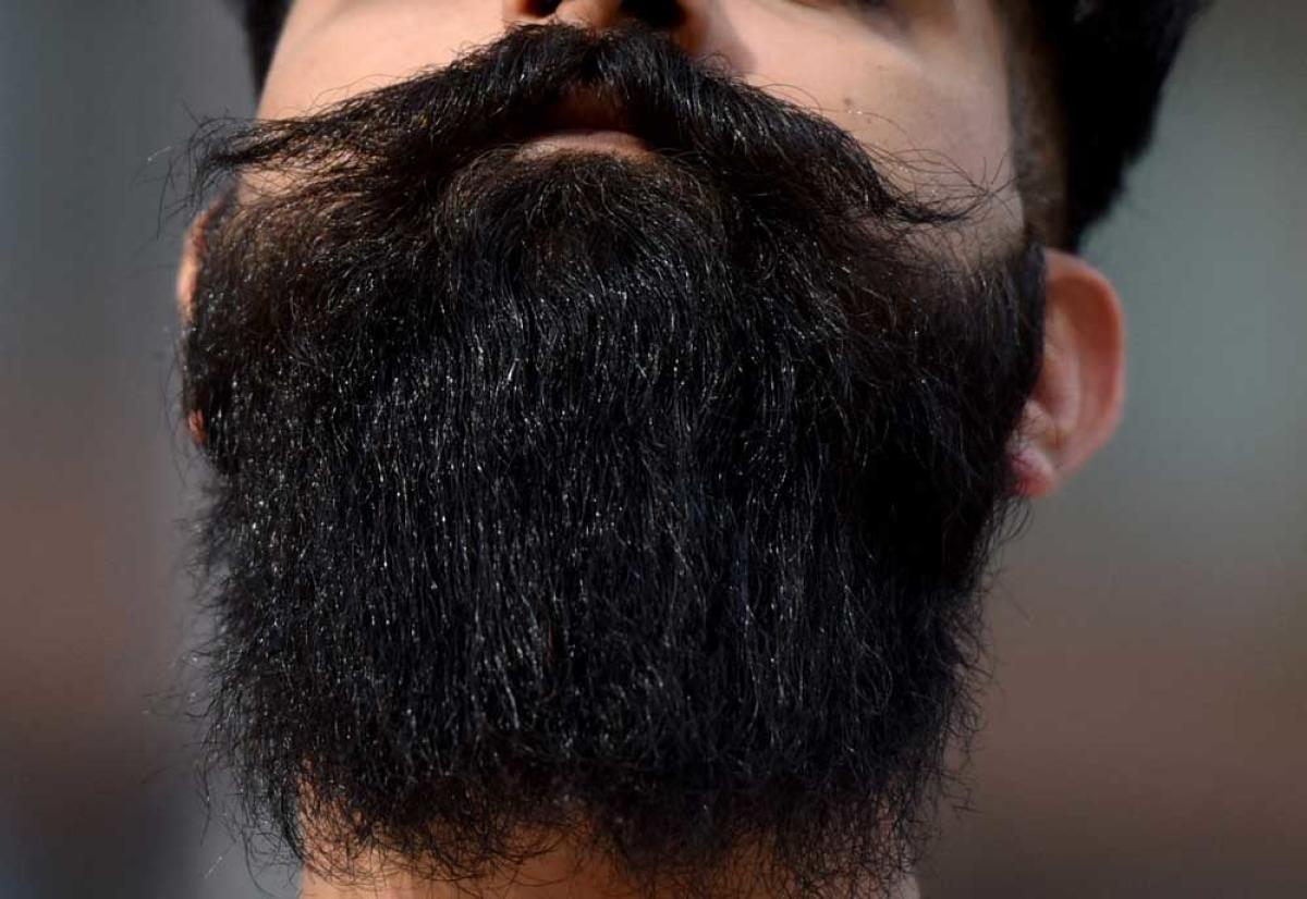 On growing a beard